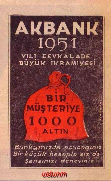 Reklam Afişleri - Akbank