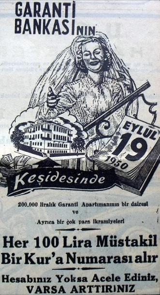 Reklam Afişleri - Garanti Bankası