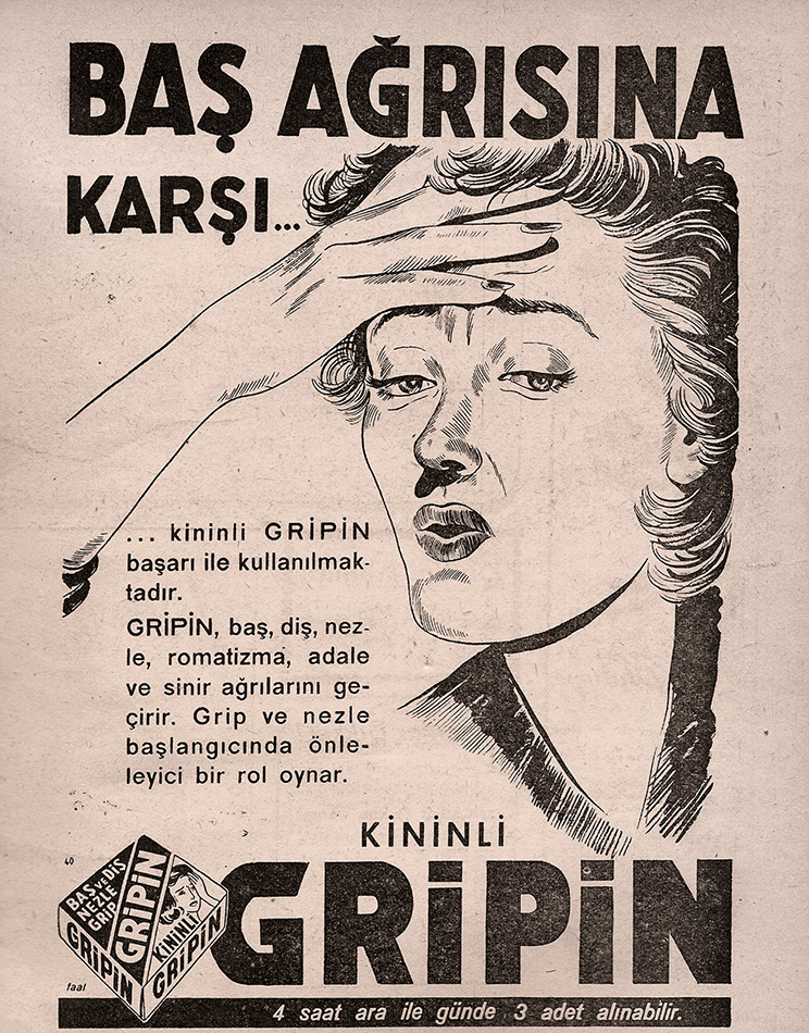 Reklam Afişleri - Gripin