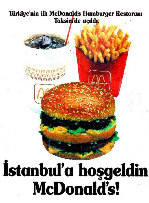McDonald's Reklam Afişi