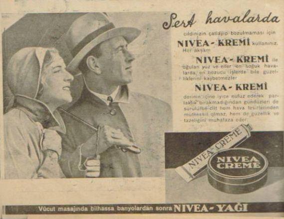 Nivea Reklam Afişi