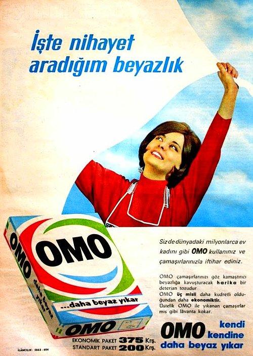 Omo Reklam Afişi