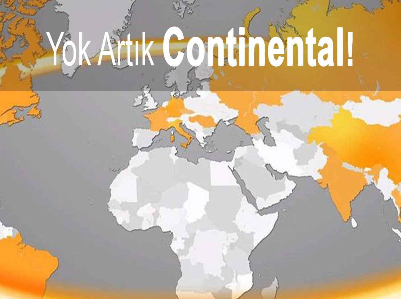 Yok Artık Continental! Ünlü Lastik Markası Türkiye'yi Haritadan Sildi