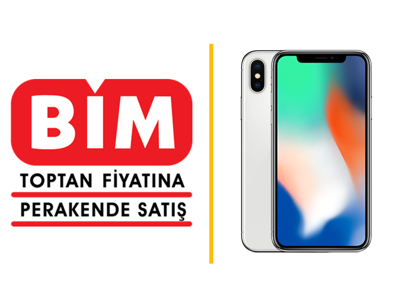 Bim'den iPhone X Hamlesi
