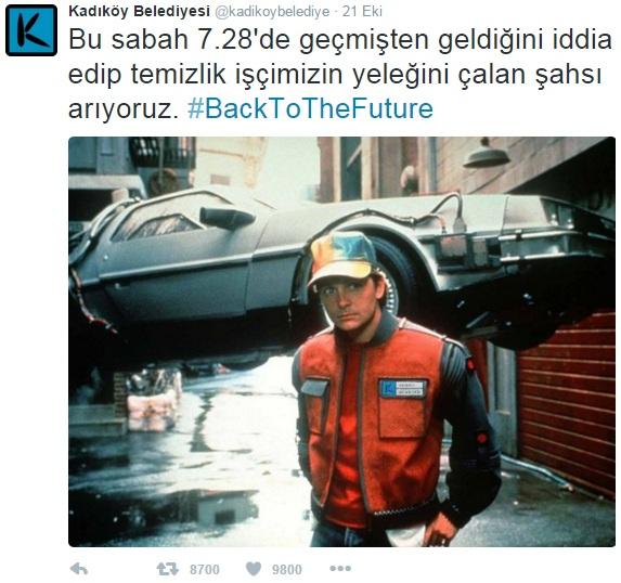 Kadıköy Belediyesi Geleceğe Dönüş Filmi