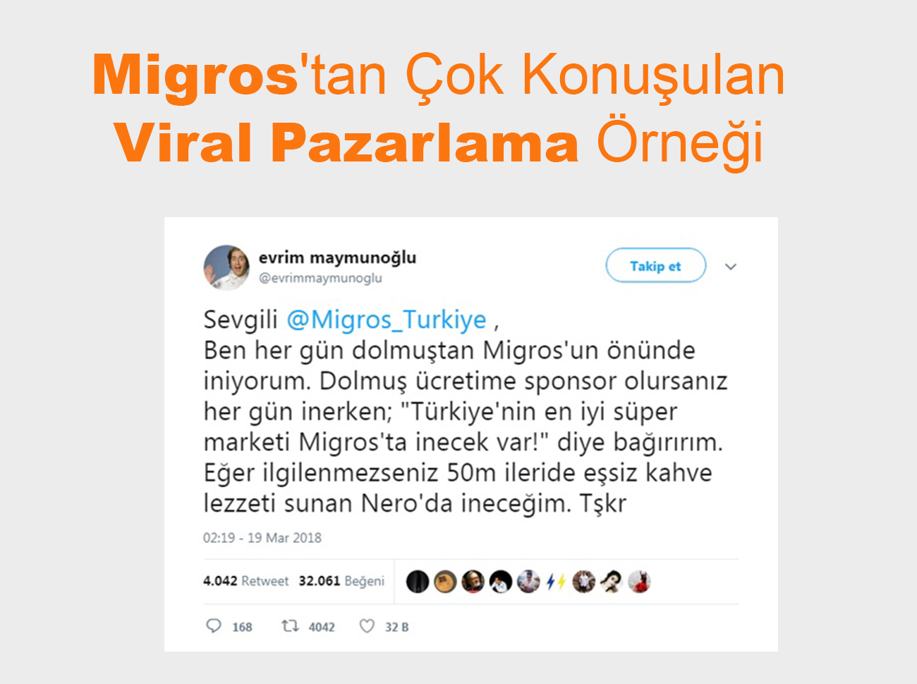Migros'tan Çok Konuşulan Viral Pazarlama Örneği