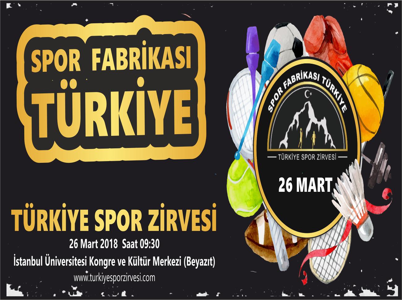 Türkiye'nin Spordaki Geleceği Türkiye Spor Zirvesi'nde Belirleniyor