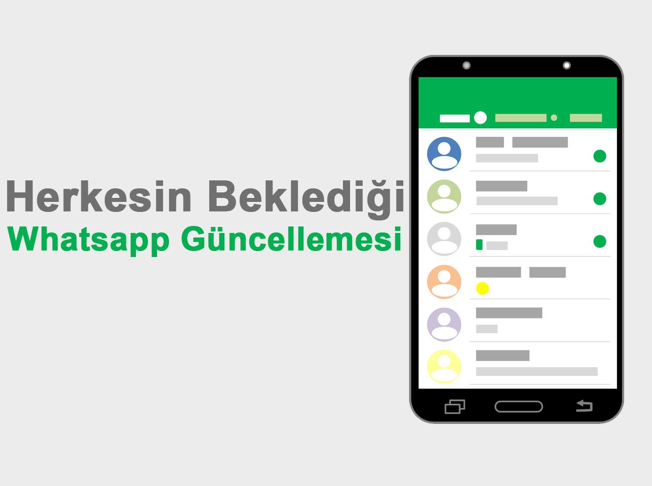 WhatsApp'tan Herkesi Sevindirecek 2 Yeni Güncelleme