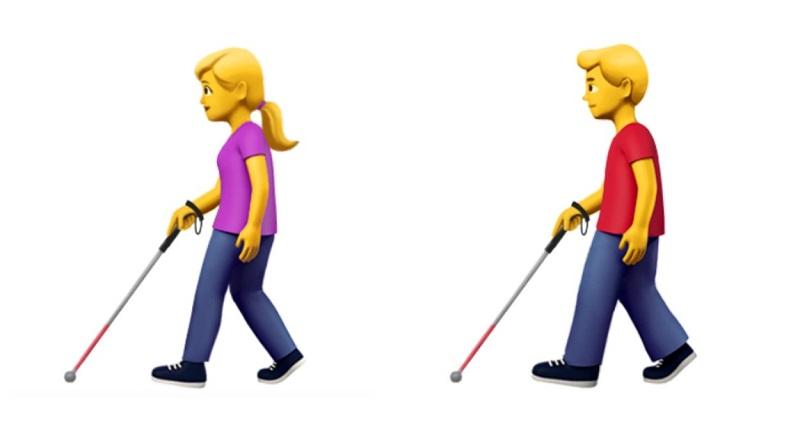 Apple Engelliler İçin Emoji