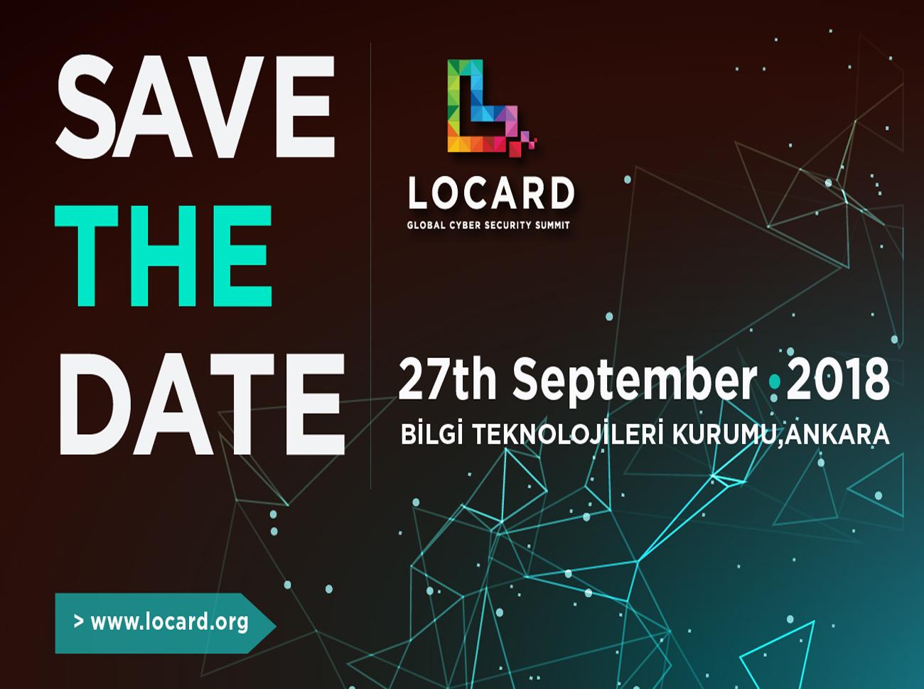 LOCARD Global Siber Güvenlik Zirvesi 2018