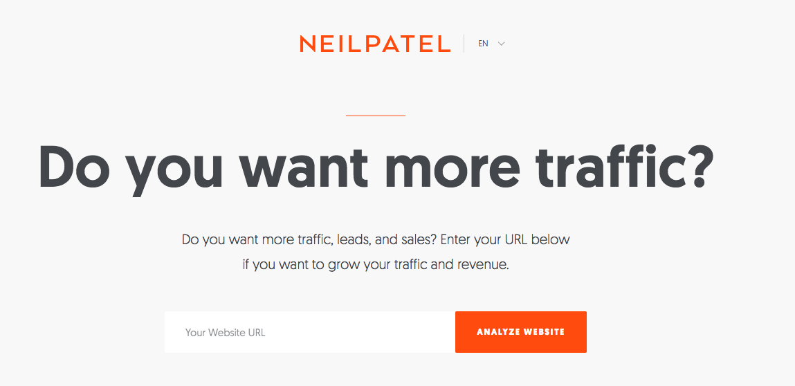 Eyleme Çağrı Örneği - Neil Patel