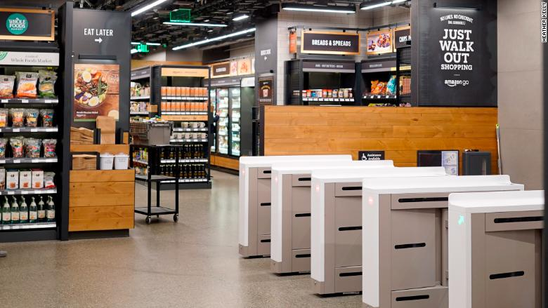 Amazon Go Kasaları