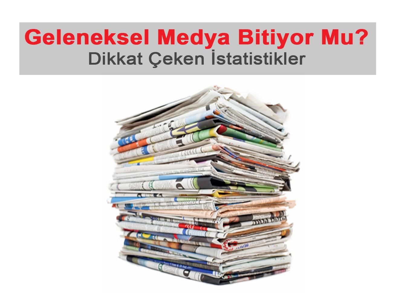 Geleneksel Medya Bitiyor: Gazete Ve Dergilerin Sayısı Gün Geçtikçe Azalıyor