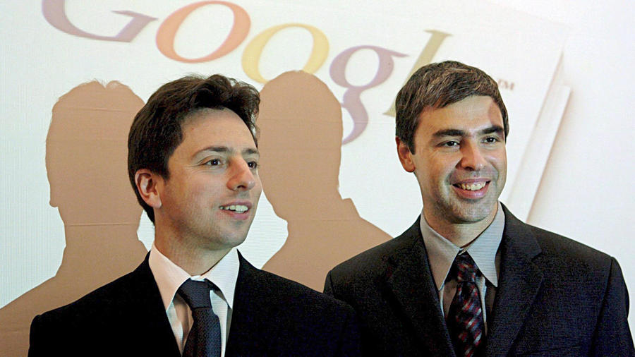Larry Page Ve Sergey Brin