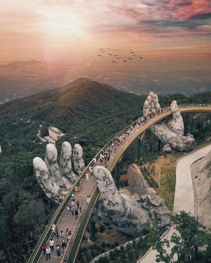 The Gold Bridge - Vietnam