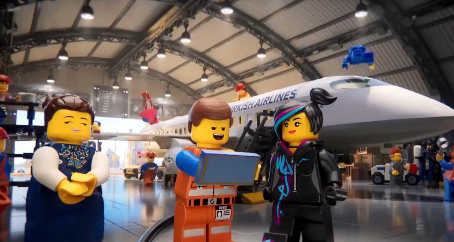 THY Lego Reklamı