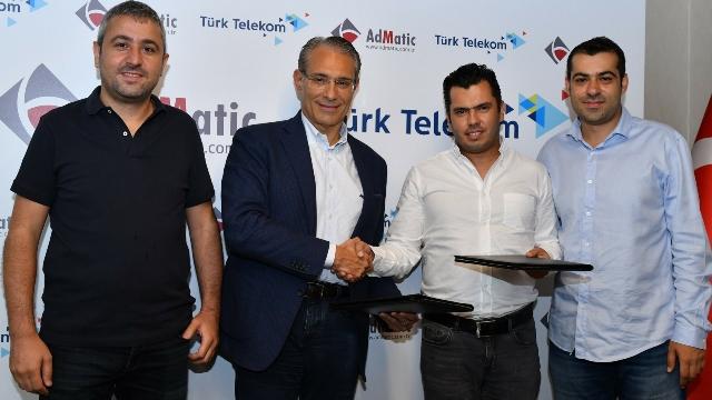 Türk Telekom Admatic İşbirliği