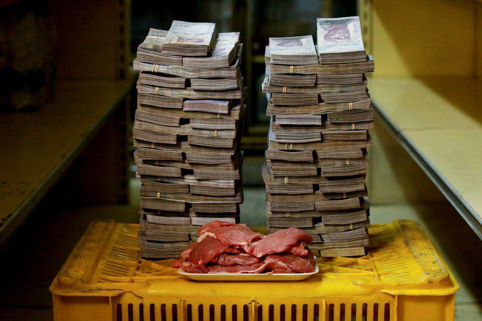 1 KG Kırmızı Et 9,5 Milyon Bolivar
