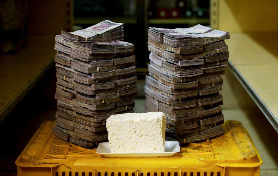 1 KG Beyaz Peynir 7,5 Milyon Bolivar