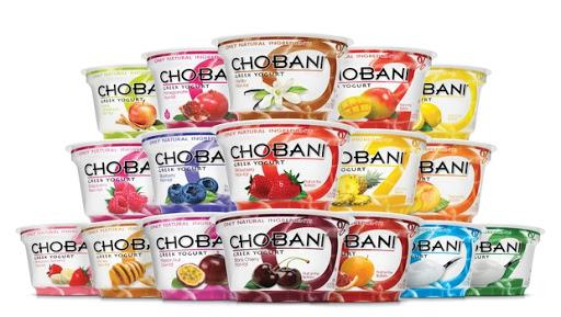 Chobani Yoğurt Çeşitleri
