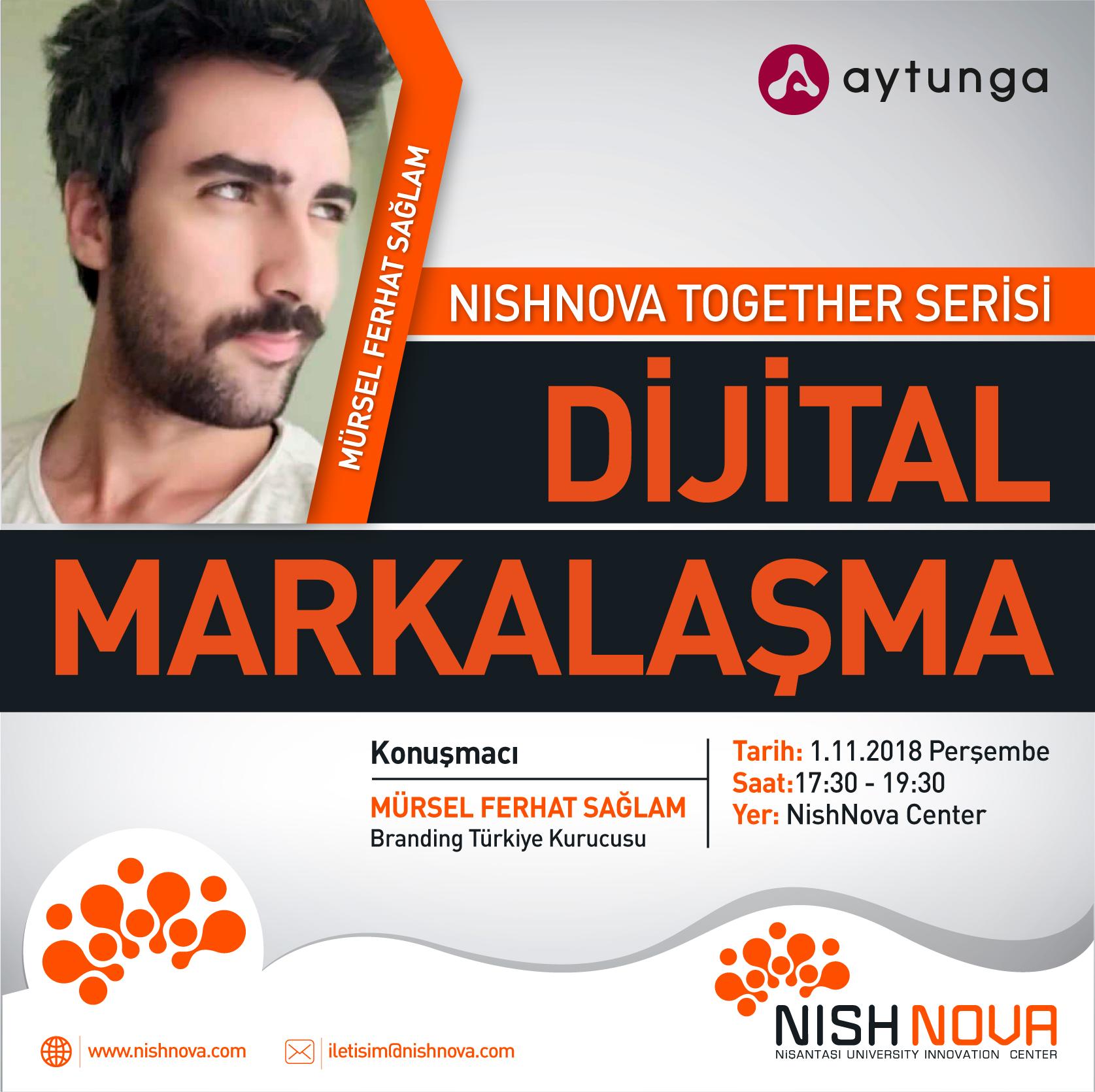 Nishnova Together Serisi Dijital Markalaşma - Afiş