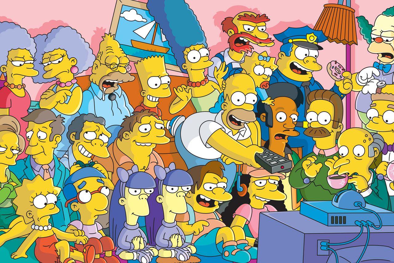 En Çok Aranan Dizi The Simpsons