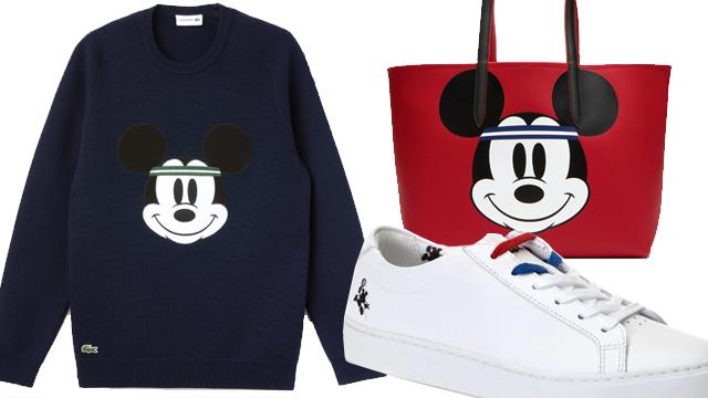 Lacoste Mickey Mouse Koleksiyonu