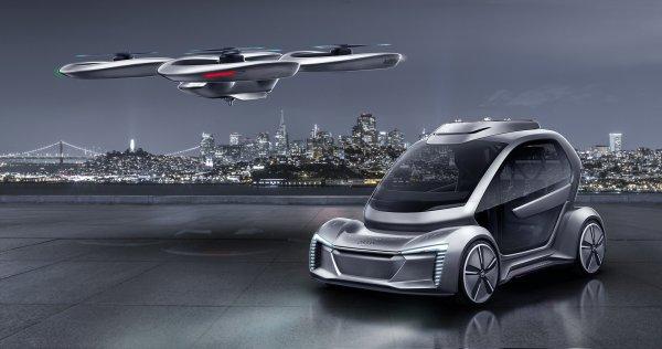 Audi Uçan Araba