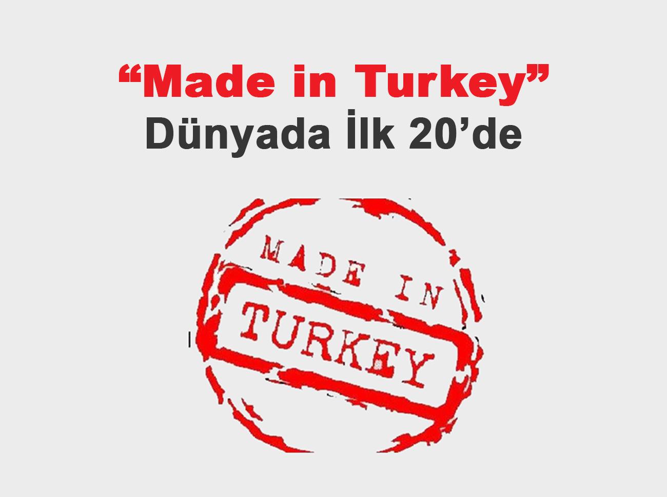 Made in Turkey Kaçıncı Sırada?