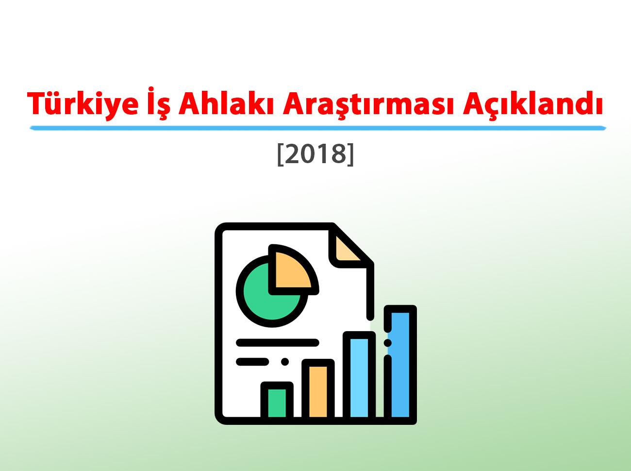 Türkiye İş Ahlakı Araştırması 2018 Açıklandı