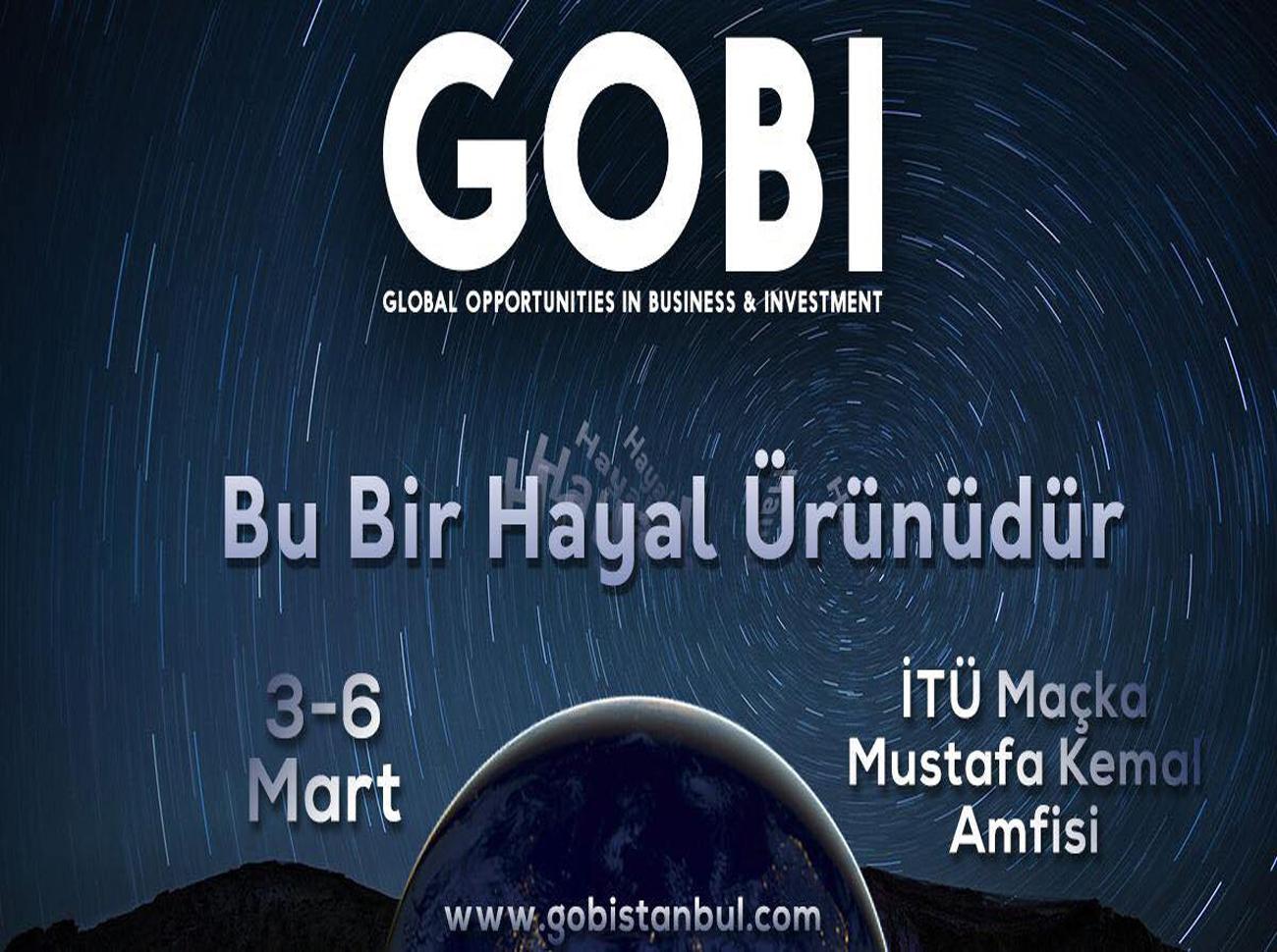 GOBI 2019, 3-6 Mart'ta İTÜ Maçka Kampüsü'nde