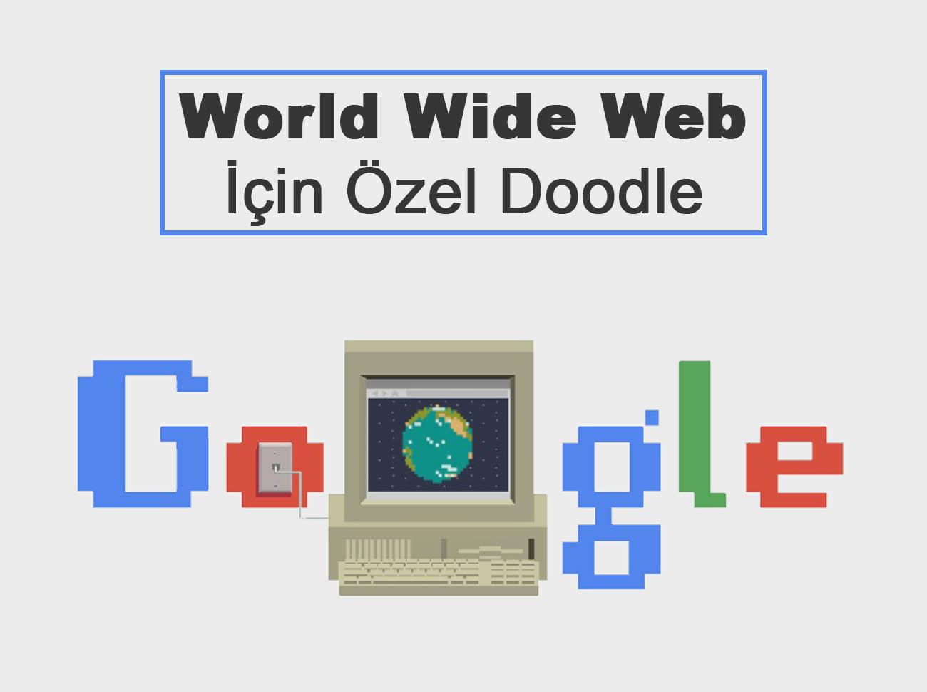 Google'dan World Wide Web İçin 30. Yıla Özel Doodle