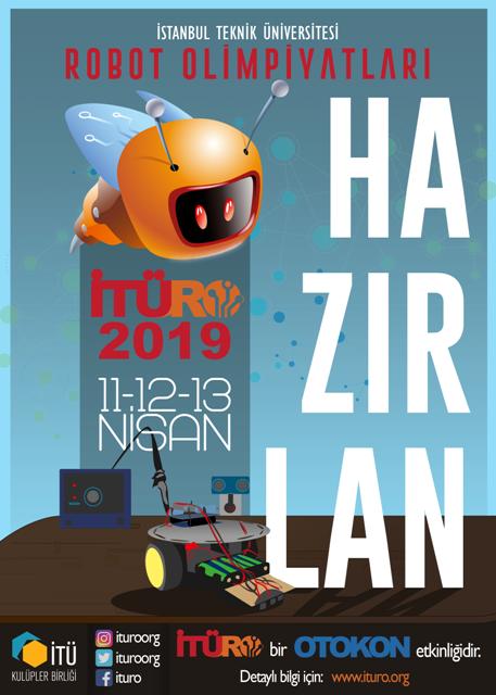 İTÜRO 2019 Afiş