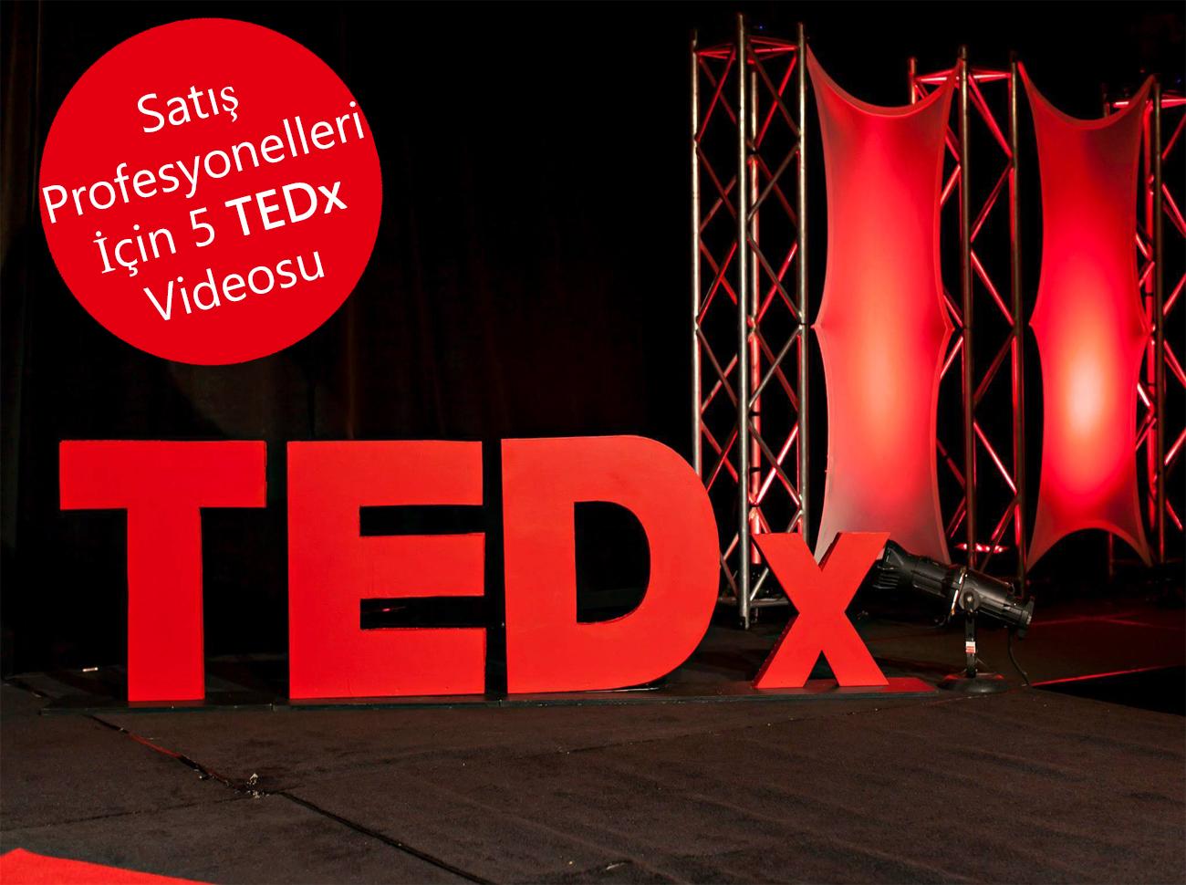 Satış Profesyonellerinin İzlemesi Gereken 5 TEDX Videosu