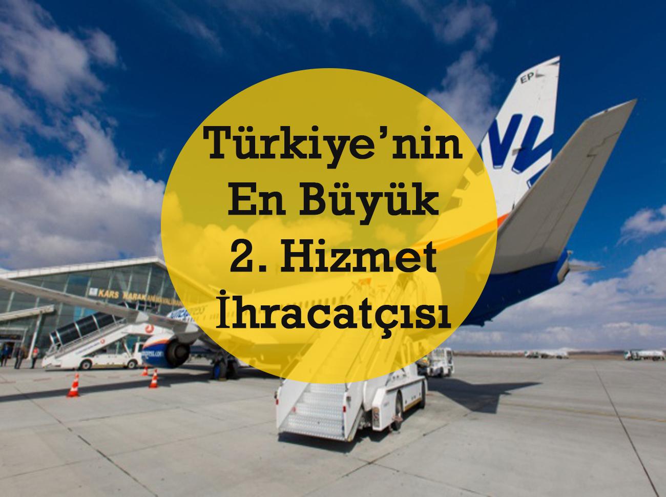 SunExpress Türkiye'nin En Büyük 2.Hizmet İhracatçısı Oldu