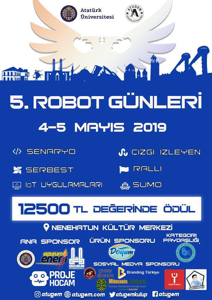 5. Robot Günleri - Afiş