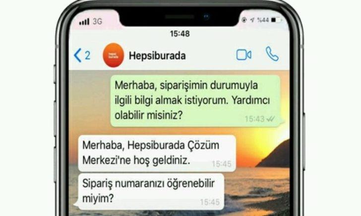 Hepsiburada Whatsapp Business