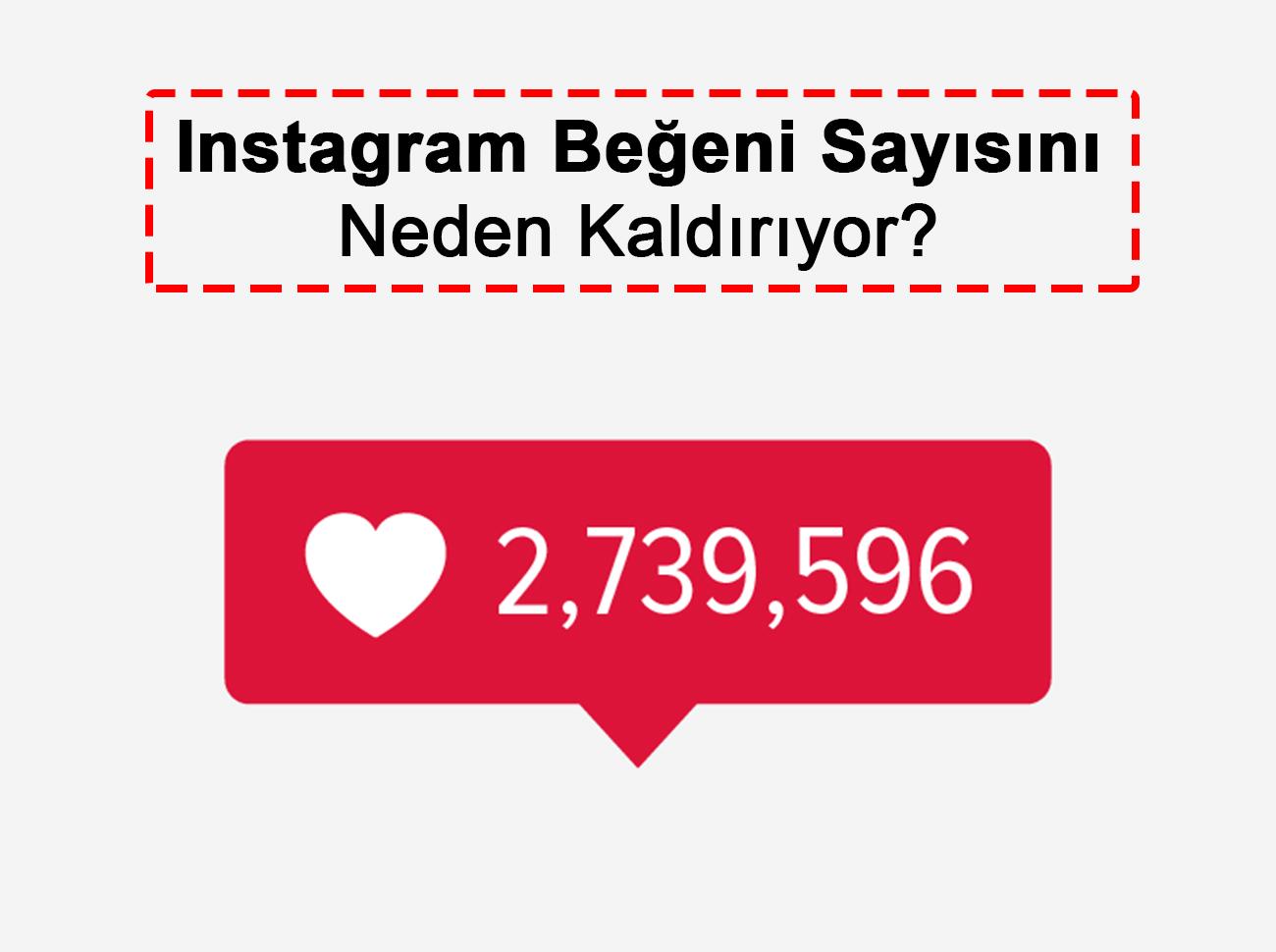 Instagram Beğeni Sayısını Kaldırıyor