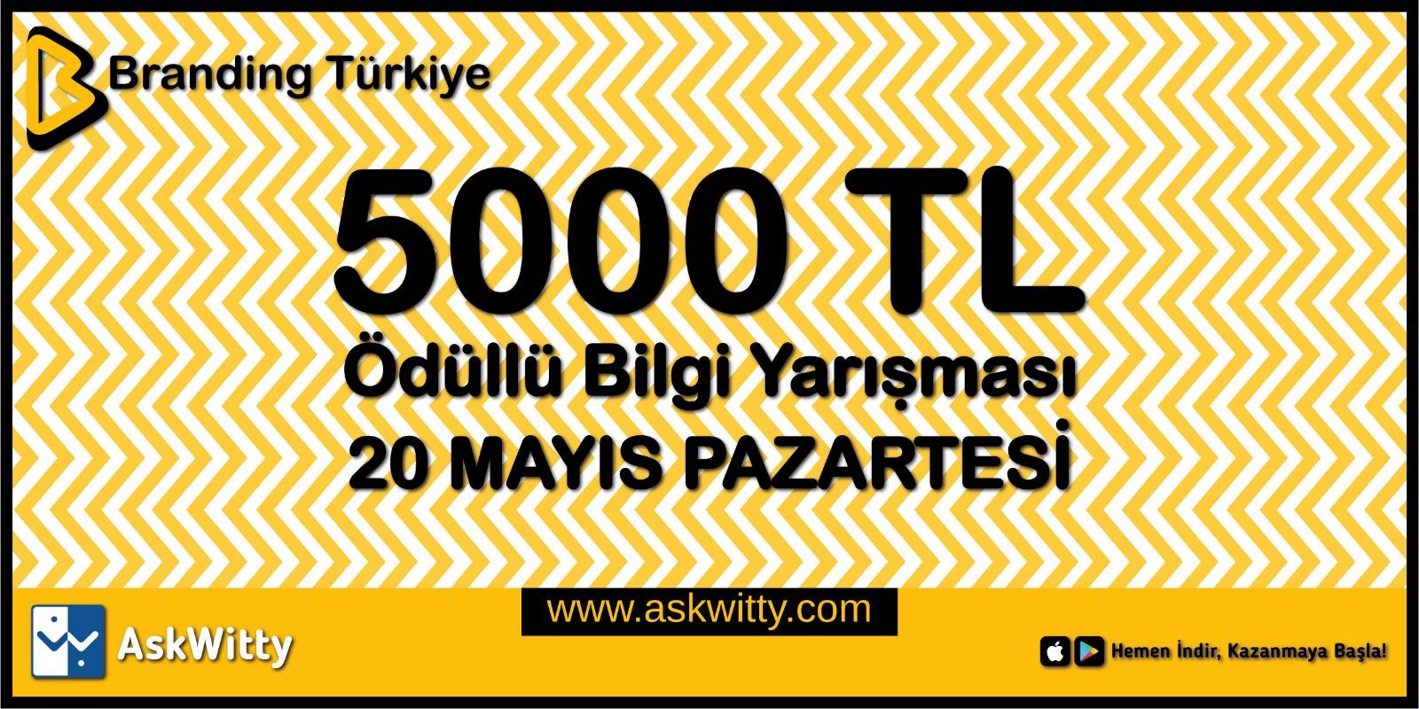 AskWitty Bilgi Yarışması - Branding Türkiye