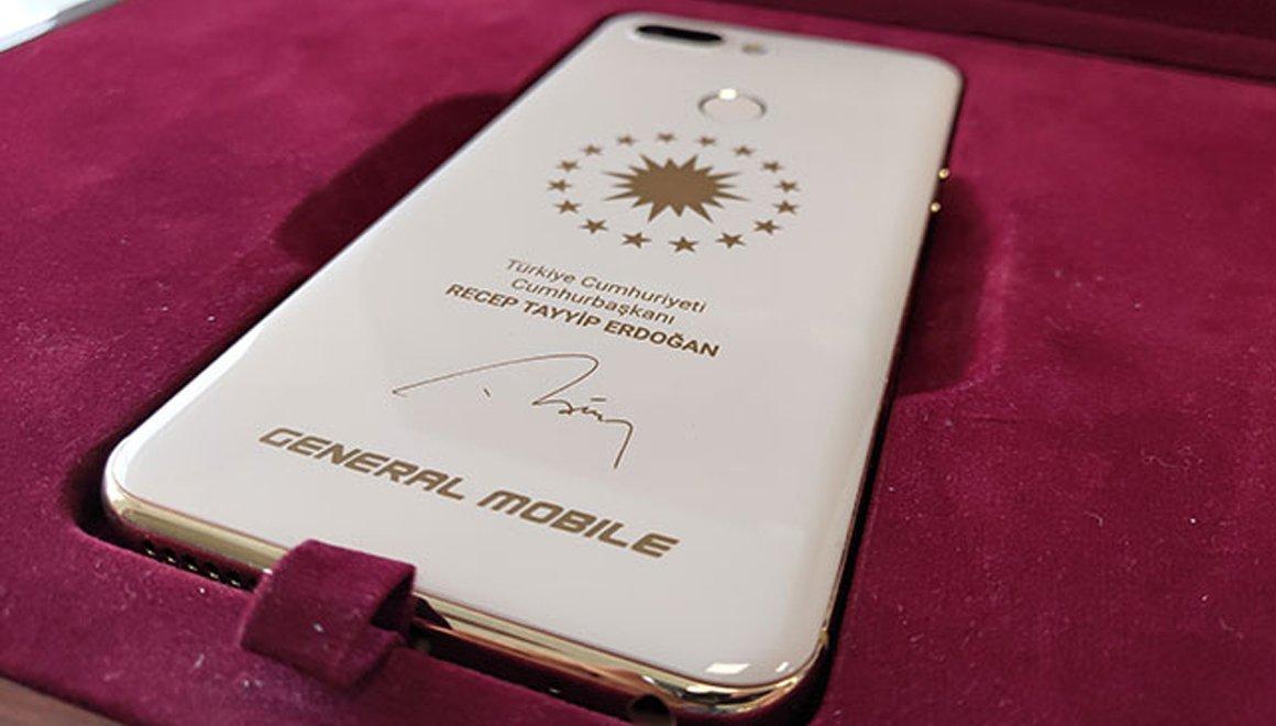 General Mobile'dan Cumhurbaşkanı'na Özel Telefon