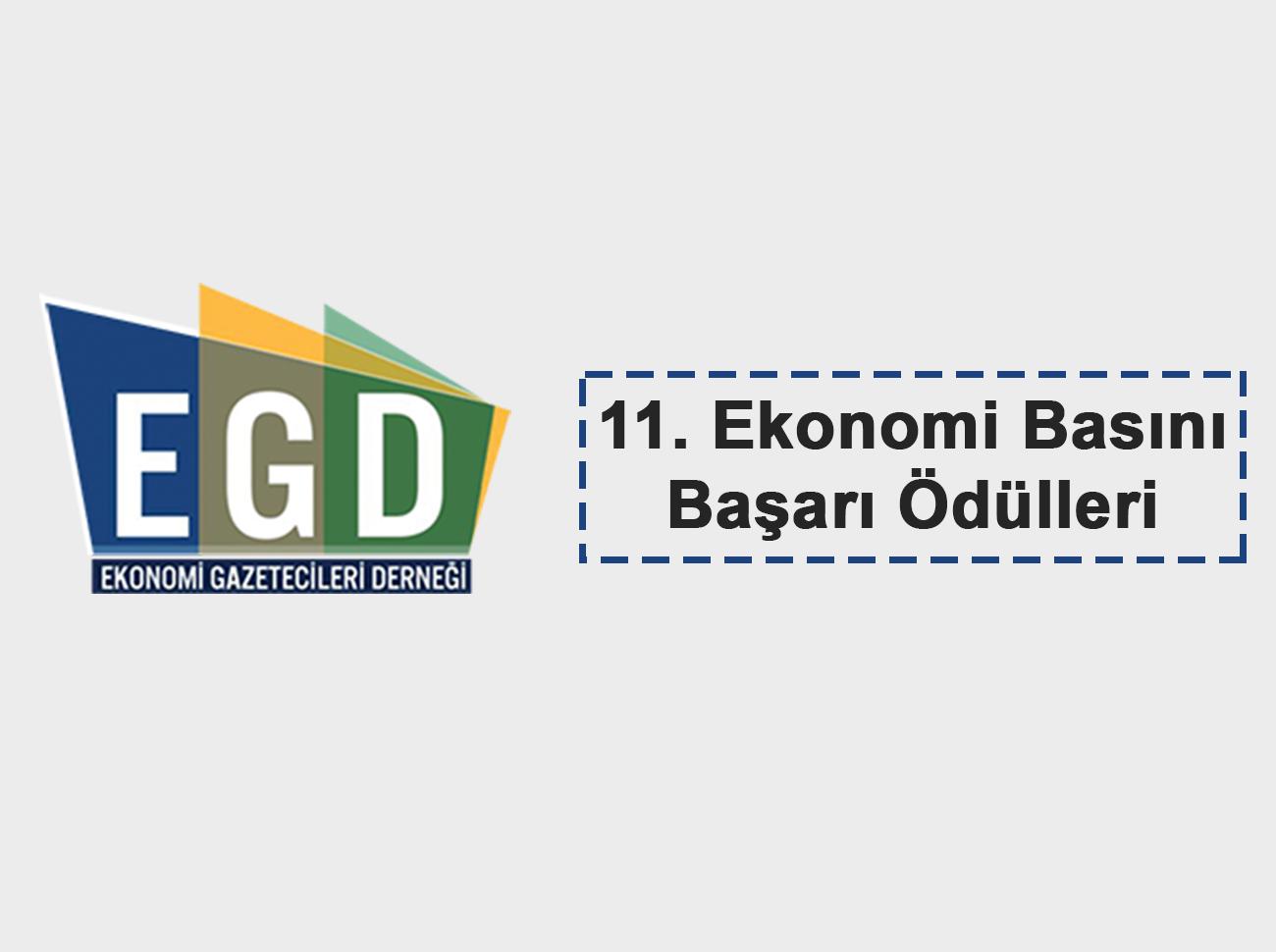 EGD 11. Ekonomi Basını Başarı Ödülleri