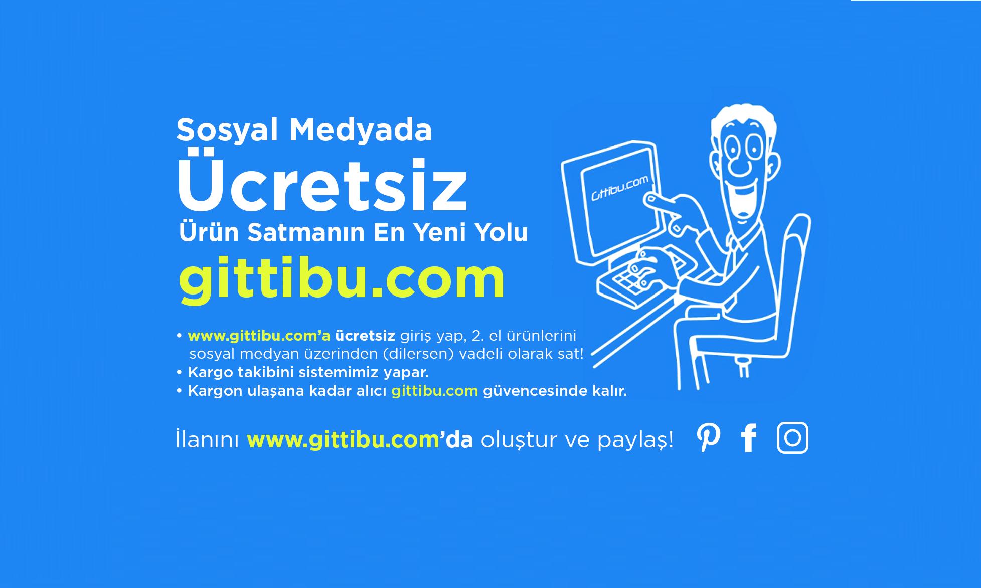 İkinci El Ürün Satış Platformu: Gittibu.com