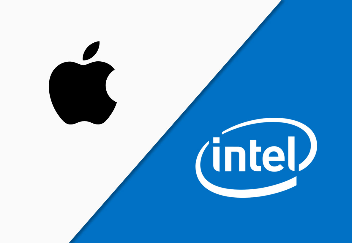 Apple Intel Mobil Çip