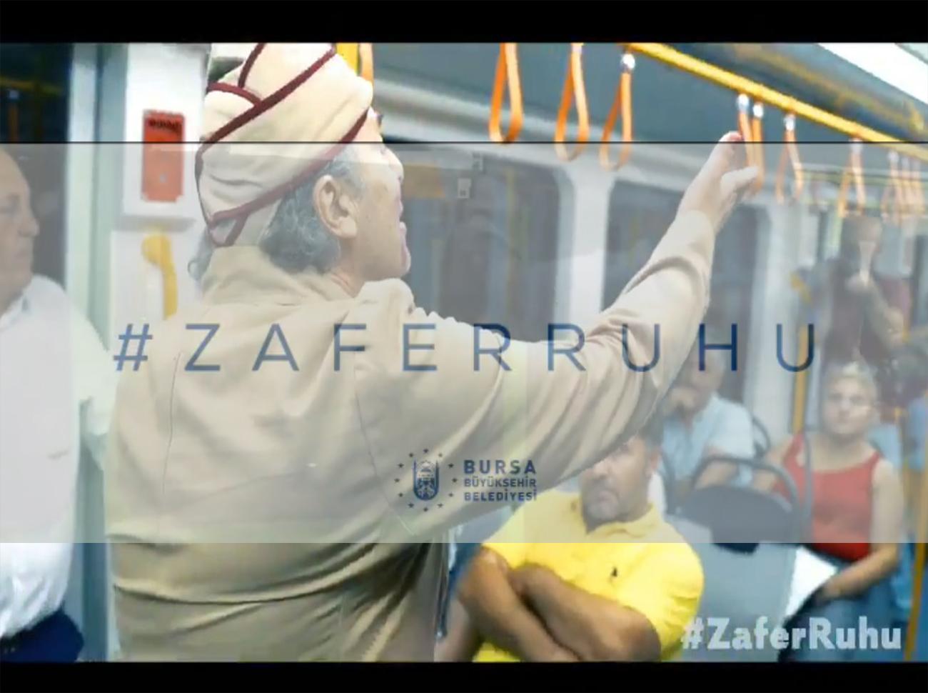 Bursa Büyükşehir Belediyesi 30 Ağustos Zafer Bayramı Videosu Hazırladı