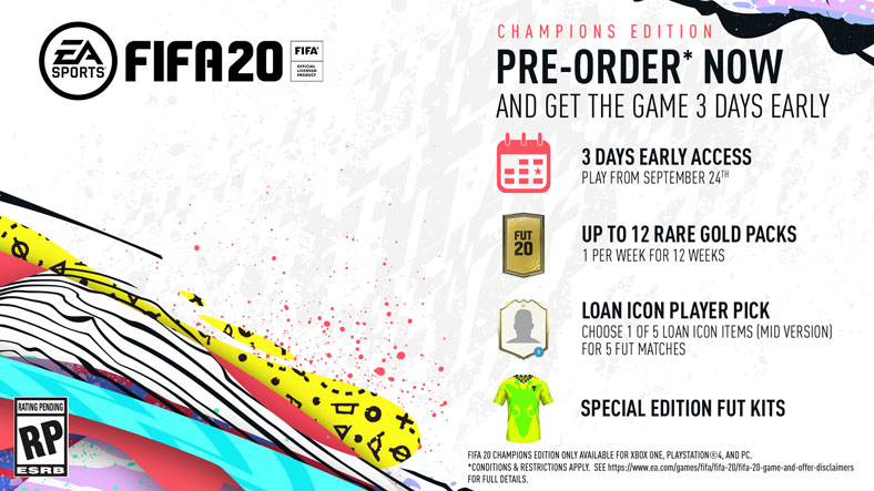 FIFA 20 Champions Edition Fiyatı