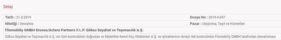 Kamil Koç Flixmobiliy
