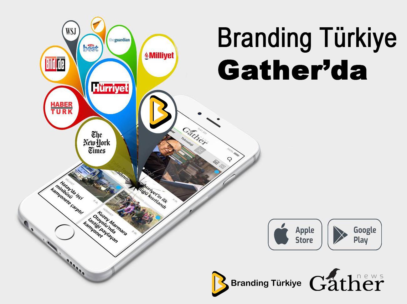 Popüler Bütünleşik Pazarlama Mecrası Branding Türkiye Gather'da