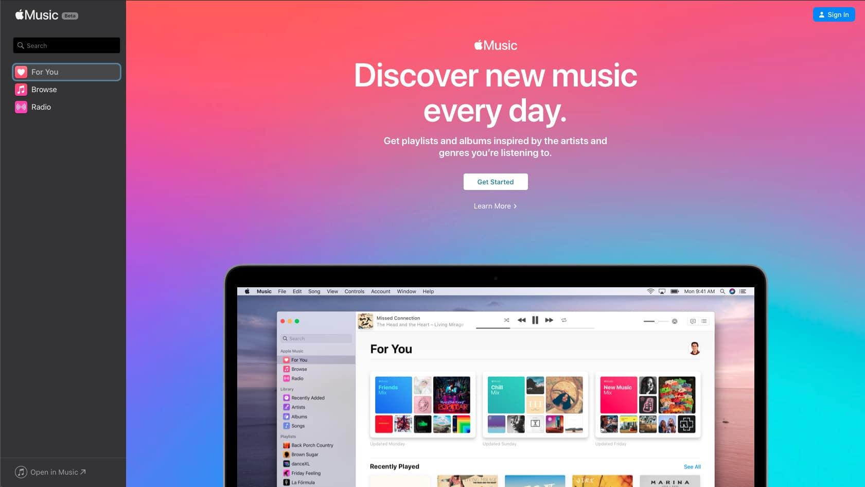 Apple Music Web Sürümü