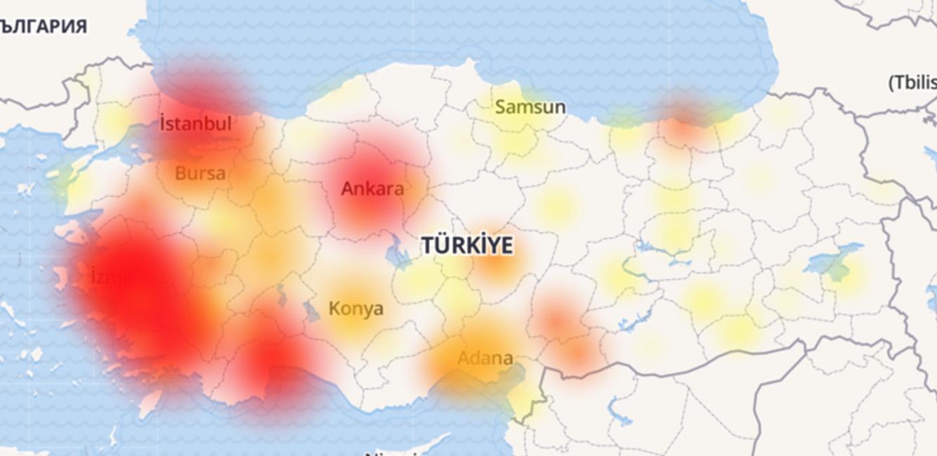 Depremde Tüm Gsm Çöktü - Türk Telekom - Erişim Problemi - 13:25
