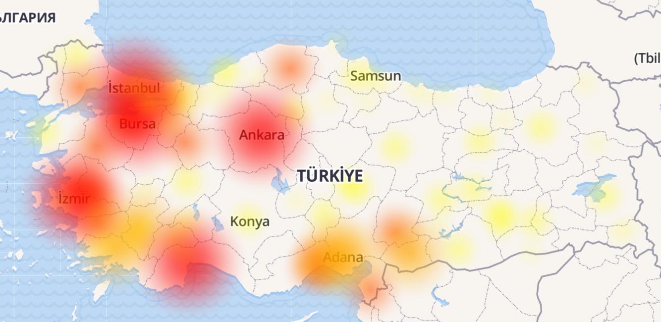 Depremde Tüm Gsm Çöktü - Turkcell - Erişim Problemi - 13:25